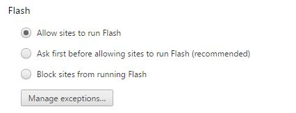 How to make flash really actually truly work in chrome kongregate 3 finally go to chromeflags and enable run all flash content when flash setting is set to allow and then restart chrome ccuart Images